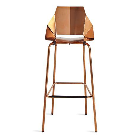 real copper bar stool modern bar stools dot