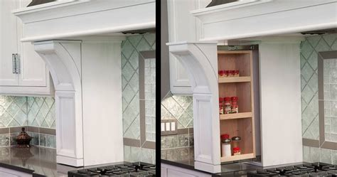 spice rack pullout   range hood columns cabinet accessories wall boxes kitchen hoods