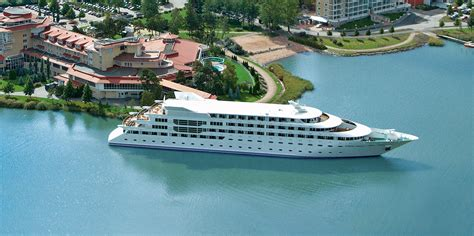 Floating Boat Hotel Gibraltar by Superyacht Hotel Sunborn