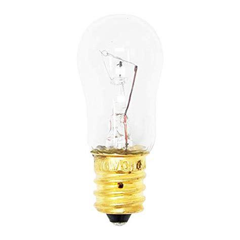 wrx light bulb refrigerator ice water dispenser light bulb  watt    length