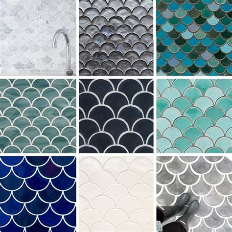 best 25 fish scale tile ideas on moroccan