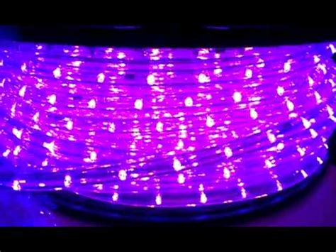 led black light black ultraviolet uv led rope light