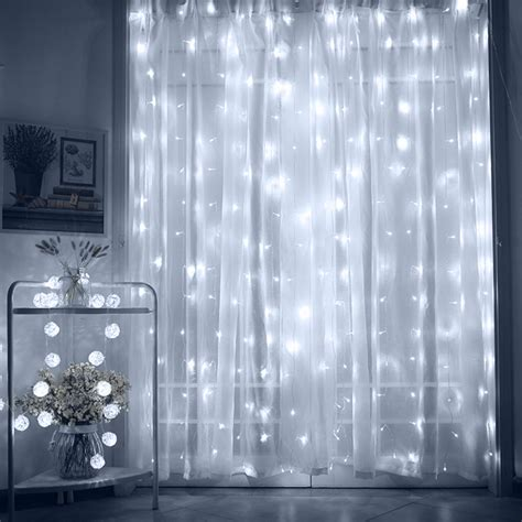 Bedroom Stand Light by Torchstar 9 8ft X 9 8ft Led Curtain Lights Starry