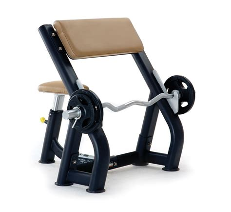 Pulse Fitness Origin Preacher Curl Bench Mensmentis