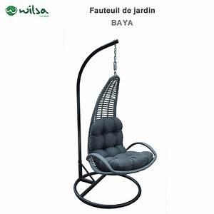 Fauteuil Suspendu Jardin : fauteuil suspendu de jardin baya 604050 wilsa garden ~ Dode.kayakingforconservation.com Idées de Décoration
