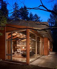 Wood Glass House Architecture