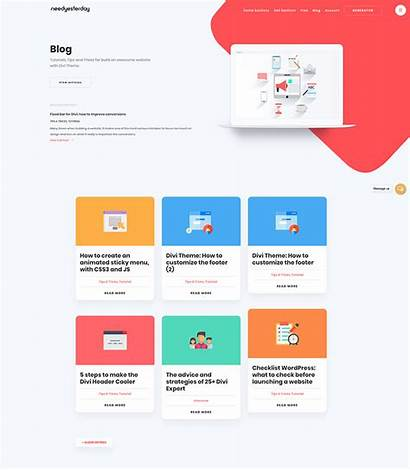 Cool Layouts Websites Divi Web Yesterday Need