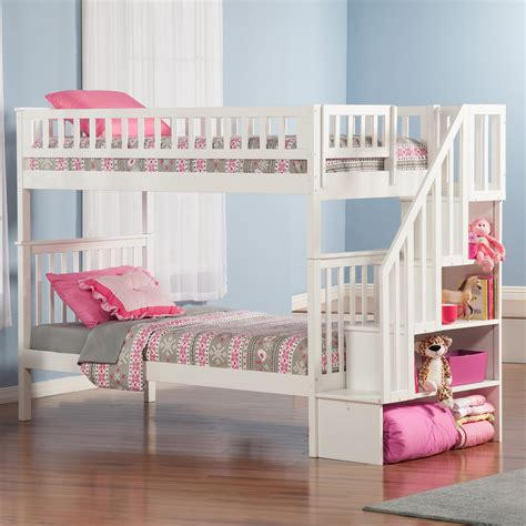 Loft Bed by Woodland Staircase Bunk Bed Bunk Beds