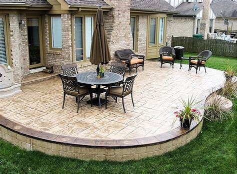 Stamped Concrete Adds Depth And Beauty To The Exterior