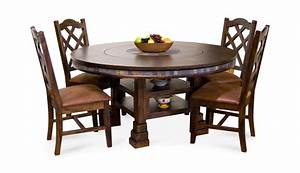 Santa Fe Round Table With 4 Chairs HOM Furniture