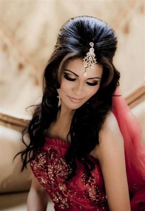 hairstyles  indian wedding  showy bridal hairstyles