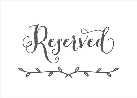 reserved sign template printable reserved signs downloadtarget also templates mommymotivation