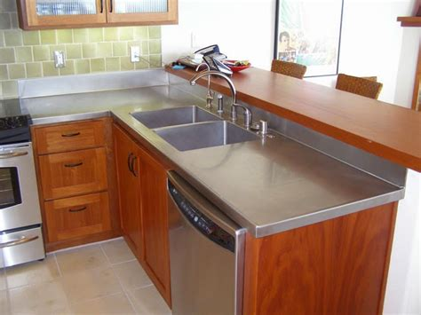 stainless steel countertop stainless steel