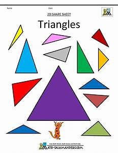 Triangle Shapes Clipart images