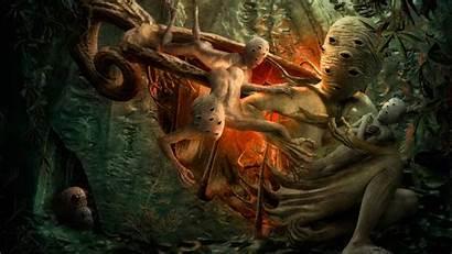 Fantasy Deviantart Creepy Surreal Fiction Science Creature