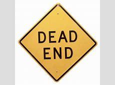 DEAD END SIGN Air Designs