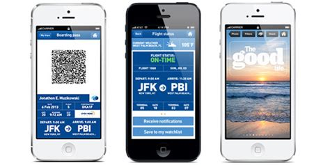 jetblue boarding pass on phone jetblue everything the passenger needs should be on their