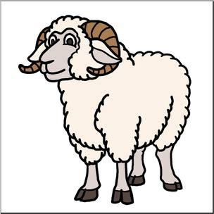 Ram Clipart Clip Sheep Ram Color I Abcteach Abcteach