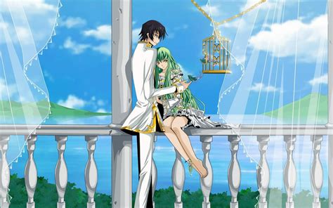 Lelouch And Cc Hd Wallpaper