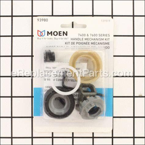 Moen 7700 Parts List and Diagram : eReplacementParts.com