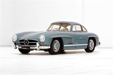 mercedes classic brabus promotes classic services with restored mercedes