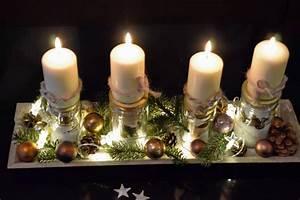 Weihnachtsgestecke Selber Machen : selbergemachtes adventsgesteck ~ Whattoseeinmadrid.com Haus und Dekorationen