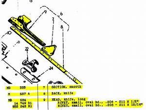 Mccormick Ih B-23 Sickle Bar Mower Parts