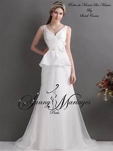 Robe Simple Mariage : robe de mariage civil simple ~ Preciouscoupons.com Idées de Décoration