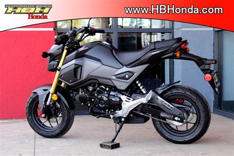 2018 Honda Grom by 2018 Honda Grom Review Motavera