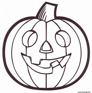 Citrouille Halloween Dessin : coloriage citrouille halloween dessin ~ Melissatoandfro.com Idées de Décoration