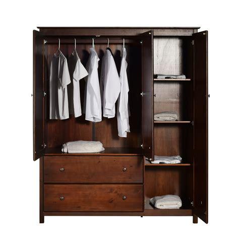 Black Clothes Wardrobe by Grain Wood Furniture Armoire Reviews Wayfair