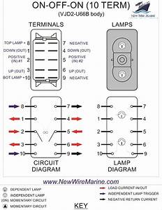 Reversing Rocker Switch Dpdt Wiring Diagram