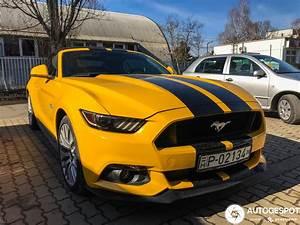 Ford Mustang GT Convertible 2015 - 22 februari 2020 - Autogespot