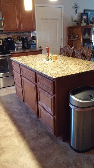 kountry wood products quot amish made cabinetry quot traditional kitchen st louis by norm s