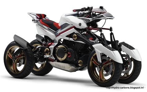 The Yamaha Tesseract Concept Motorcycle Grease N Gasoline