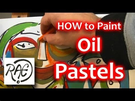How To Add Oil Pastels To Acrylic Paintings Step By Step