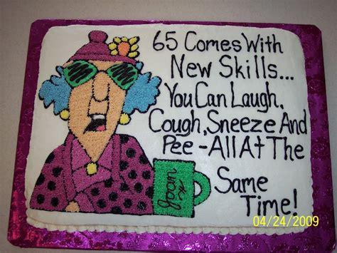 Maxine 65th Birthday Cake Ideas
