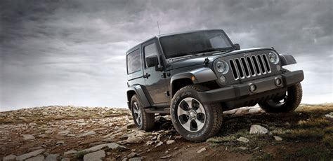 wide jeep 2019 jeep scrambler black color on hill 4k wide hd