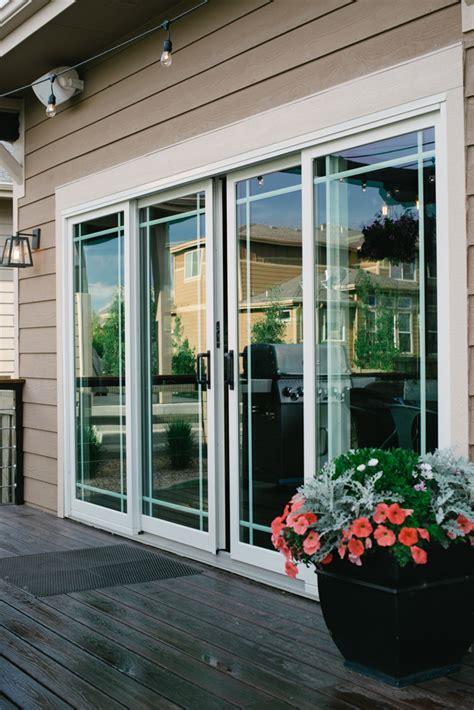 andersen  series sliding patio door andersen windows denver