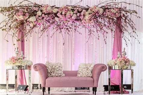 wedding stage decoration idea  indian weddings
