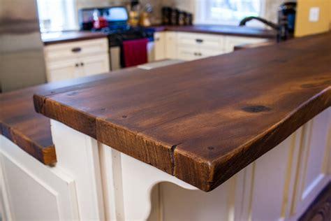 wood island tops kitchens woodform concrete countertops unique and decorative