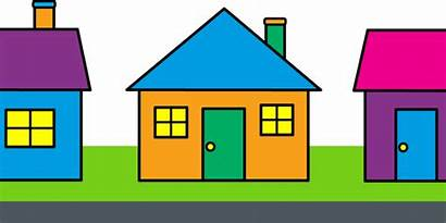 Clipart Clip Cliparts Houses Qualities Homes Clipartcow