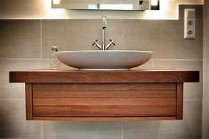 Waschbeckenunterschrank Hängend Aufsatzwaschbecken : waschbeckenunterschrank holz ~ Markanthonyermac.com Haus und Dekorationen
