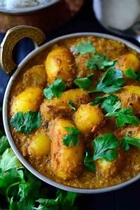 Spicy Vegan Potato Curry (Dum Aloo)   Cilantro and Citronella
