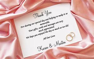 thank you cards are just as important as your wedding With wedding thank you letter