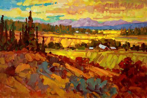 Western Landscape Paintings Ken Gillespie Sfca