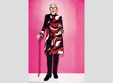 Iris Apfel shares her fashion tips after curating a line