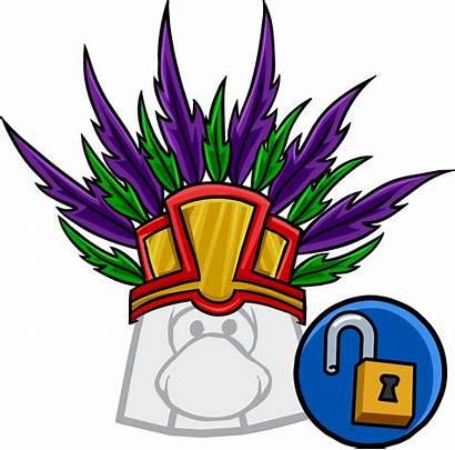 Tiki Headdress Icon Head