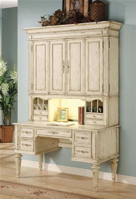 old desk with hutch hooker furniture vicenza desk w hutch in antique white