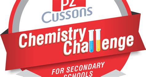 pz cussons chemistry challenge competition guidelines